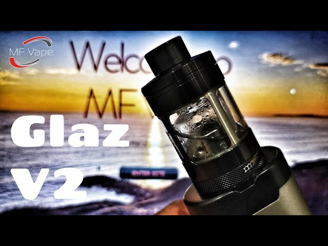 Glaz RTA V2 by Steamcrave - Impressive! - Review & Rebuild -
