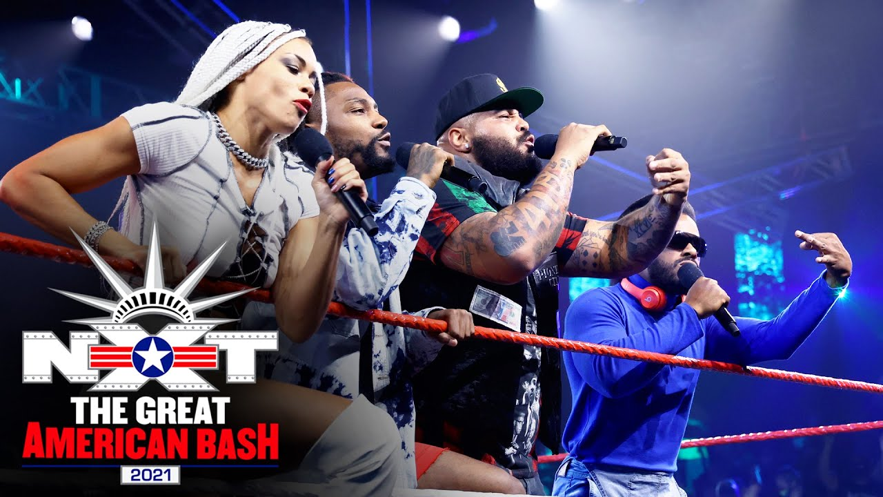 Hit Row Hosts Championship Cypher At The NXT Great American Bash