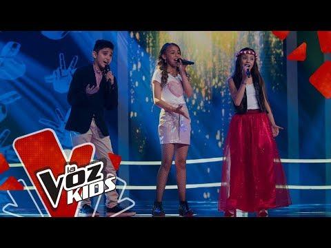 Angeline, Angie y Santiago cantan Libre – Batallas | La Voz Kids Colombia 2019