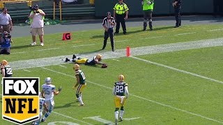 Mike Pereira: Ty Montgomery's brilliant play gives Packers ball at 40 yd line