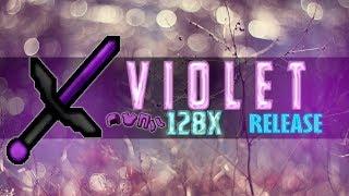 Minecraft PvP Texture Pack Violet 128x