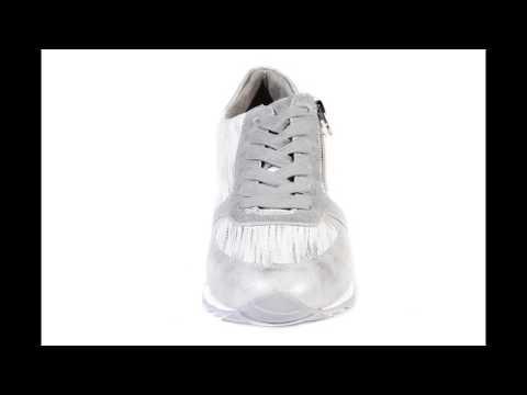 Dockers by Gerli Damen Sneakers Silber