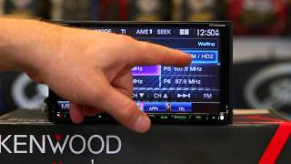 How to use the HD tuner on Kenwood's DDX9902S  multimedia radio