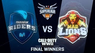 MOVISTAR RIDERS vs MAD LIONS E.C. | Superliga Orange CoD | FINAL DEL WINNERS