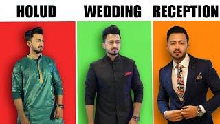 বিয়েতে ছেলেদের কেমন DRESS পরা উচিত || Mens Wear For DESI WEDDING By HKS