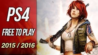 Upcoming Free To Play PS4 Games 2015