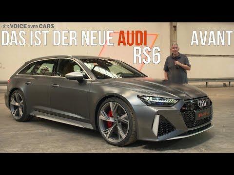 2020 Audi RS6 Avant Fakten Leistung Motor Innenraum Sitzprobe Vorstellung Premiere Neuvorstellung