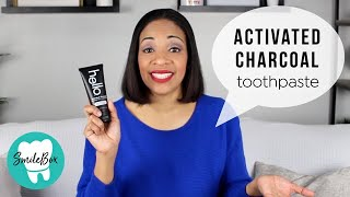 HELLO Activated Charcoal Toothpaste | Dr. Brigitte White