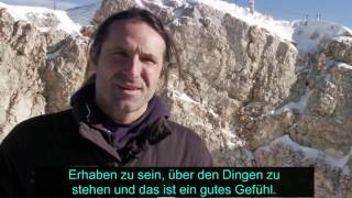 "Video: VdK-TV: ""Das Licht der Berge"" - Interview mit Alexander Huber"