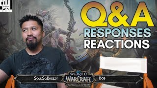 January 24 WoW Developer Q&A Recap and Reactions! World of Warcraft