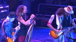 Aerosmith with Johnny Depp - Big Ten Inch Record - The Forum 7-30-14