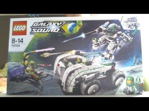 Vidéo LEGO Galaxy Squad 70704 : La défense spatiale