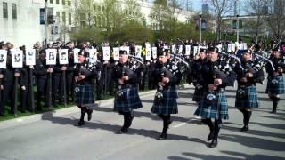 St.Jude Memorial Parade 2013 Chicago Police Department