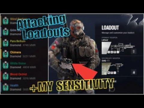 Best Loadout for Attackers- Rainbow Six Siege - смотреть