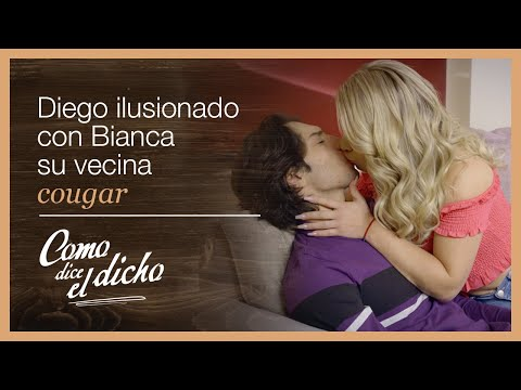 Como dice el dicho: ¡Diego se enamora de Bianca una mujer mayor! | Donde es más el daño...
