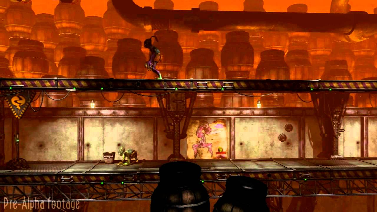 That HD Remake Of Oddworld: Abe's Oddysee Is Sure Looking Sharp