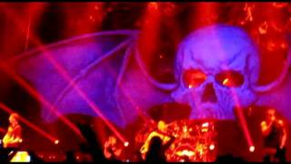 Stephen Plays Second Heartbeat on Stage with A7X in Grand Forks, 12-9-11
