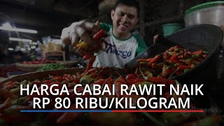 Harga Kebutuhan Pokok di Pasar Raya Padang Hari Ini, Cabai Rawit Naik, Rp 80 Ribu Per Kilogram