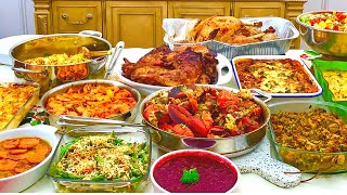 Making the Ultimate Thanksgiving Holiday Feast - Download this Video in MP3, M4A, WEBM, MP4, 3GP