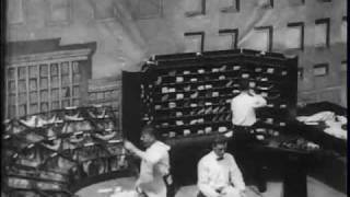Carriers at work, U.S. Post Office