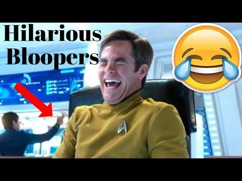 Star Trek Hilarious Bloopers (2009-2016) Ft. Chris Pine & Benedict Cumberbatch
