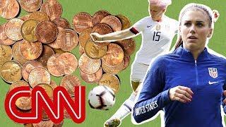 Behind America's gender wage gap in soccer