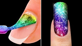 NEW NAIL ART DESIGNS || MANICURE LIFE HACKS