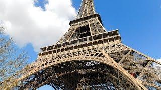 Inside The Eiffel Tower, Paris! (2019)