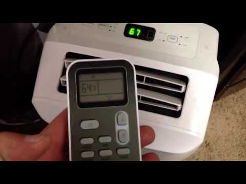 Portable Lg 8,000 btu AC Air Conditioner Home Depot Review
