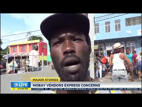 Mobay vendors express concerns with SOE vending curfews