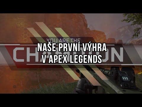 Naše první výhra v Apex Legends