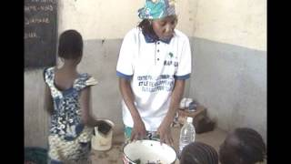 preview picture of video 'CECOSDA Cameroon Sensitizes the Maroua school pupils on hand washing'