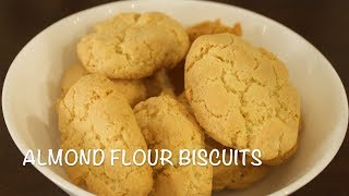 how to make biscuits out of almond flour