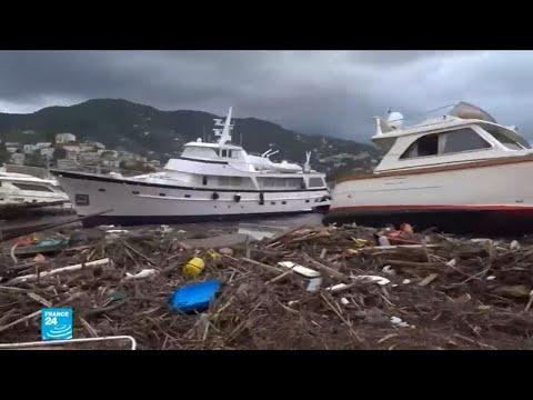 العرب اليوم - شاهد: عاصفة ثلجية قوية تضرب أوروبا وتأثيرها على الموانئ والمنازل