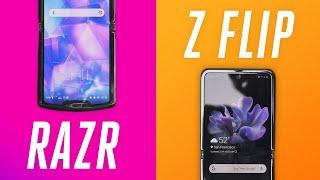 Galaxy Z Flip vs. Motorola Razr: no contest