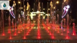 Sàn phun nước nghệ thuật - tỉnh Kiên Giang