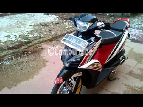 Video Modifikasi Yamaha Mio GT Minimalis Lampung