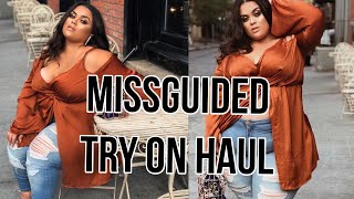 PLUS SIZE TRY ON HAUL-HOLIDAY 2017! MISSGUIDED ♡♡ |GABRIELLAGLAMOUR