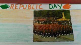 "write a paragraph on ""Republic Day"" In easy and simple words."