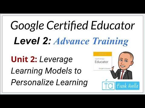 Google Educator Level 2: Unit 2 Training - YouTube