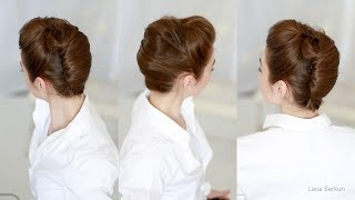 FRENCH TWIST For Long Hair