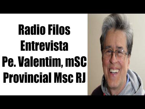 Entrevista com Padre Valentim, mSC Provincial dos Missionários do Sagrado Coração RJ