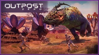 OUTPOST ZERO - Alpha Gameplay Tutorial NEW Survival Building Game (2018) HD