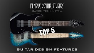 My Top 5 - Annoying 7 & 8 String Guitar Design Cliches