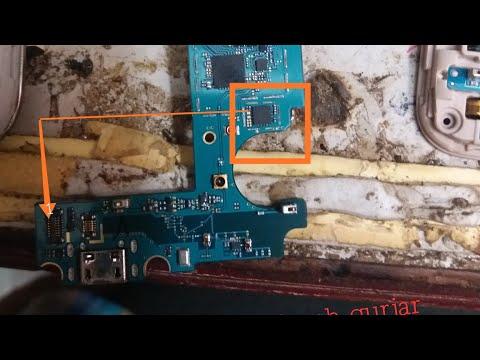 Samsung J7 Back Button Headphone Jeck Flex Cable Replacement