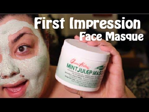 Les masques de la crème fraîche pour la personne et autour des yeux