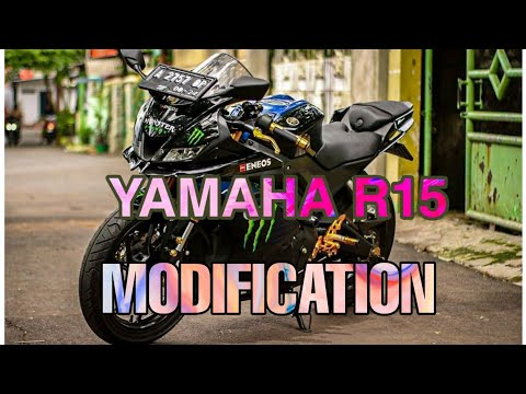 MODIFICATION (MODIFIKASI) YAMAHA R15 V3 LIKE A YAMAHA R6 ??? 3D