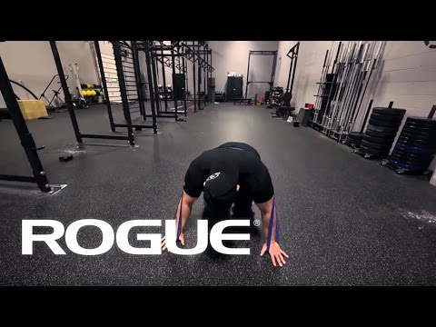 Movement Demo - Push Ups With Bands