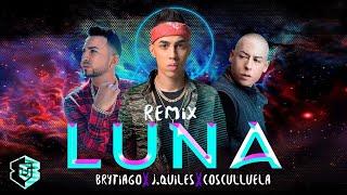 Luna Remix - Brytiago Ft. J Quiles - Cosculluela | Video Lyric