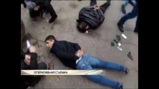 Задержание спецназом ОПГ грабителей в Москве